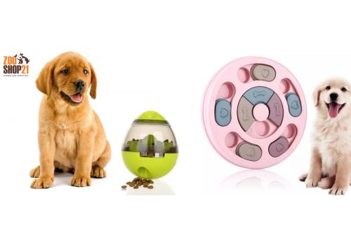 Поговорим о развивающих или интерактивных игрушках для собак