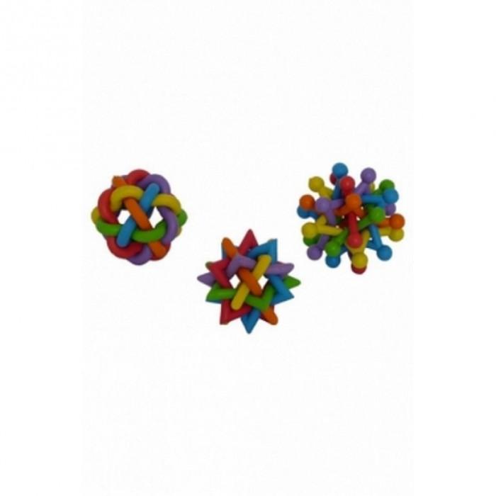 """Papillon Игрушка для собак """"Цветная головоломка"""", латекс, 7-8см"""