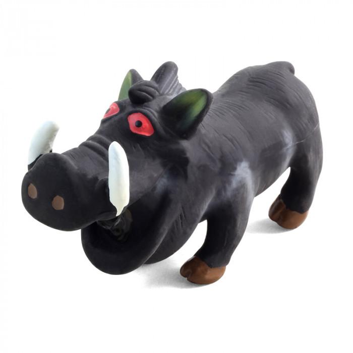"""Игрушка для собак из латекса """"Кабан хрюкающий"""", 170мм"""