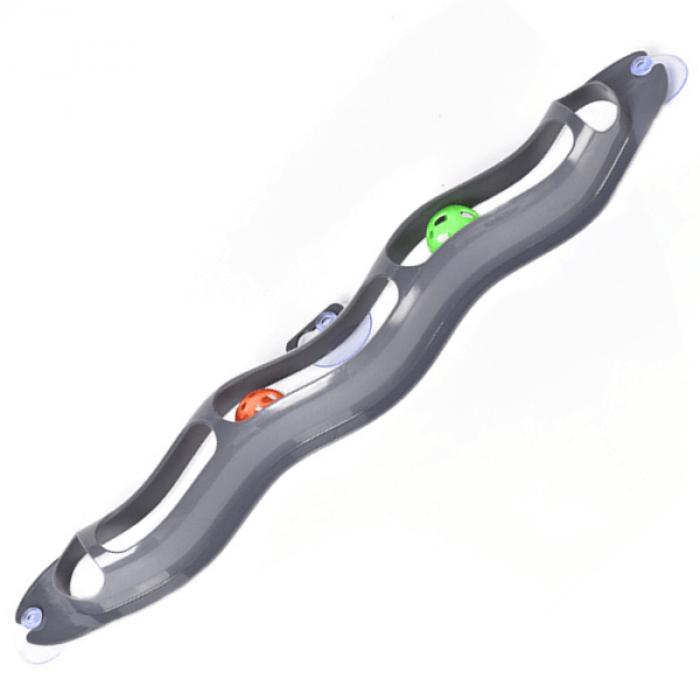 Интерактивная игрушка трекбол на присоске, 57x7 см