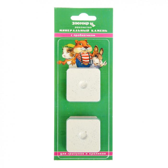 Зоомир камень минеральный для грызунов с пробиотиком, 50г