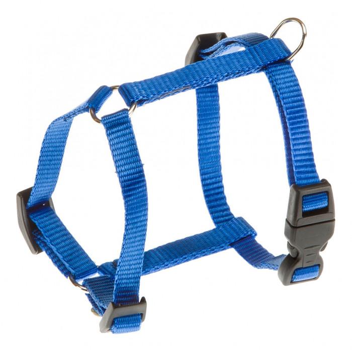 Шлейка для собак FERPLAST DAYTONA Large нейлон, синий, обхват груди 66-73 см