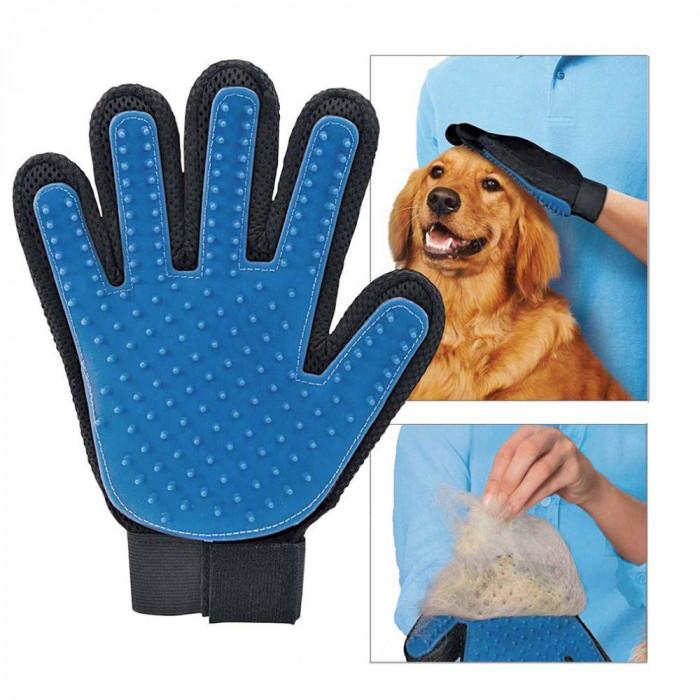 ABC Pet Перчатка для вычесывания шерсти с домашних животных