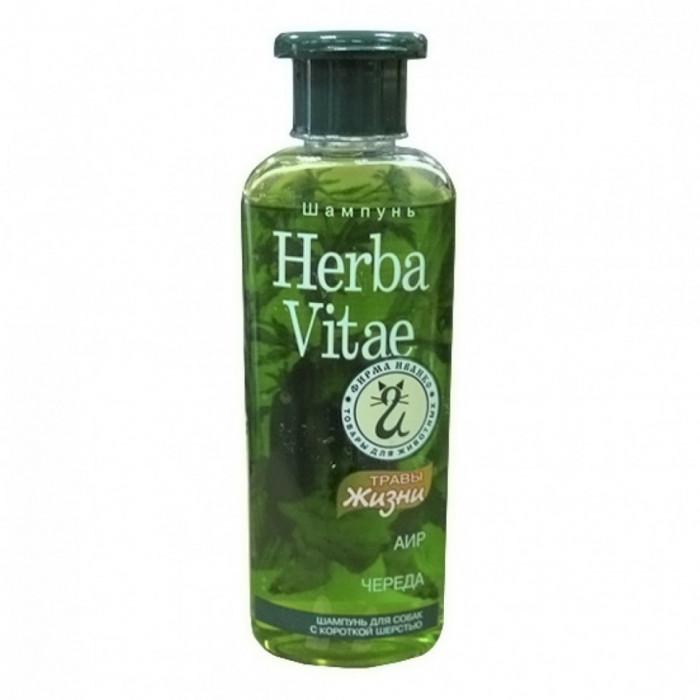 Herba Vitae шампунь для короткошерстных собак, 250 мл