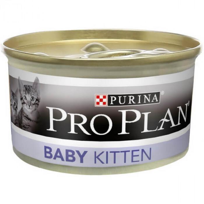 Корм Pro Plan Baby Kitten для котят в возрасте от 6 до 12 недель, с курицей, 85 г