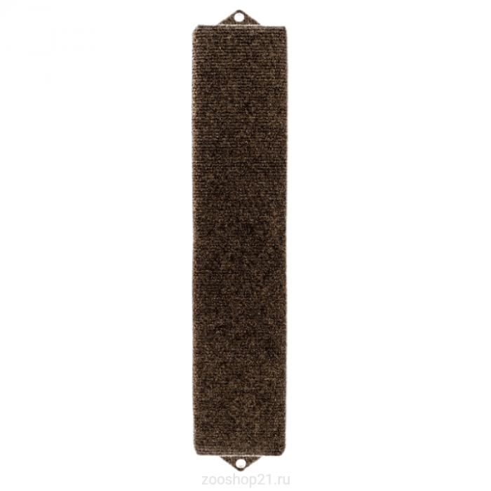 Когтеточка плоская 11/60 см, ковролин коричневый