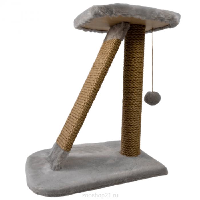 Когтеточка Столбик Альфа серый 50 см