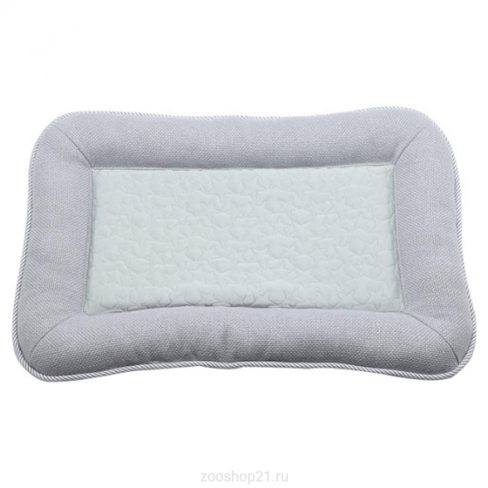 Лежак прямоугольный Elite 55х36х5 см, серый