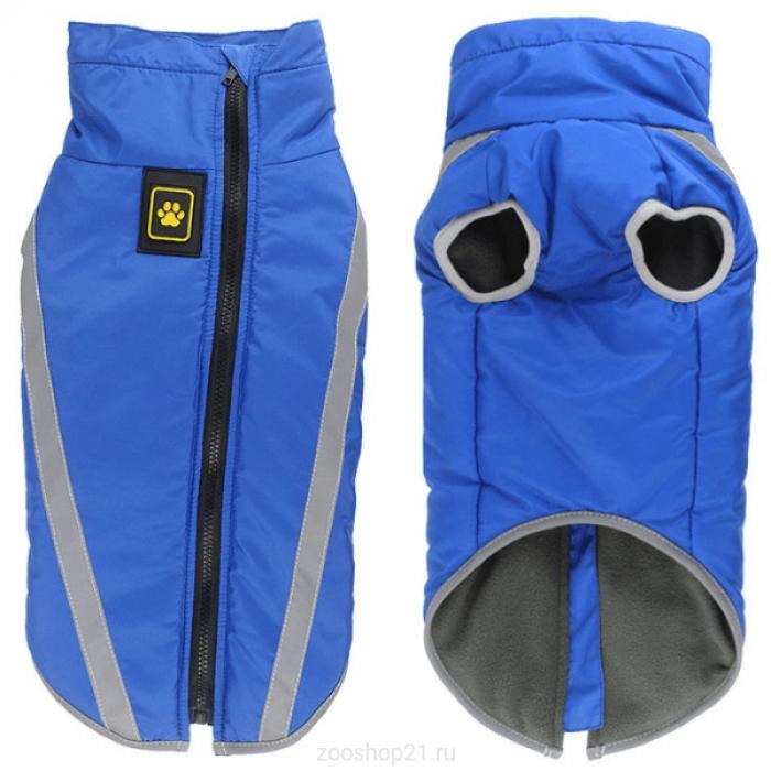 """Жилет """"Лапа"""" для собак, размер 2XL (длина спины 45 см), синий"""