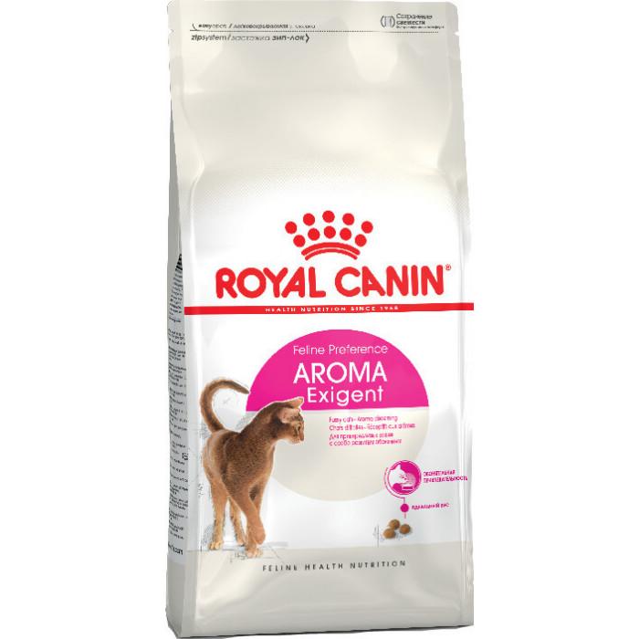 Корм Royal Canin Aroma Exigent для требовательных к аромату корма, 2 кг