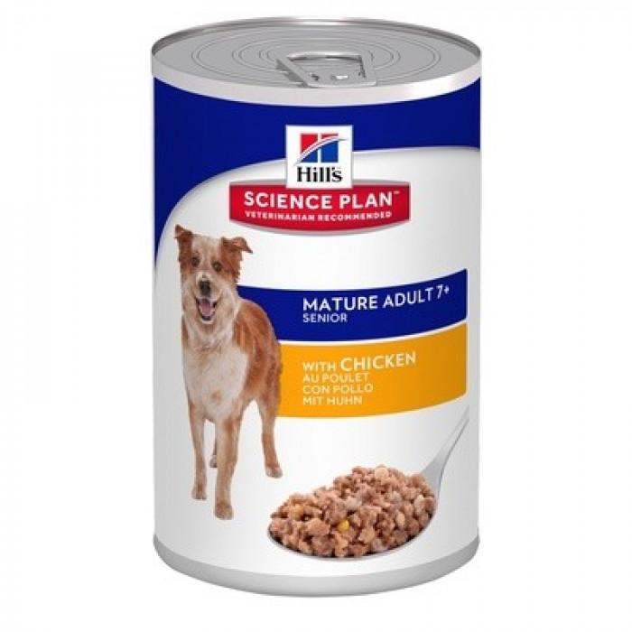Корм Hill's Science Plan Active Longevity консервы для собак старше 7 лет курица, 370 г