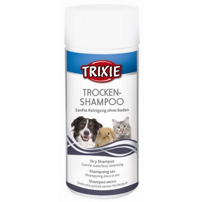 Trixie сухой шампунь для собак, кошек и др. мелких животных 100 г