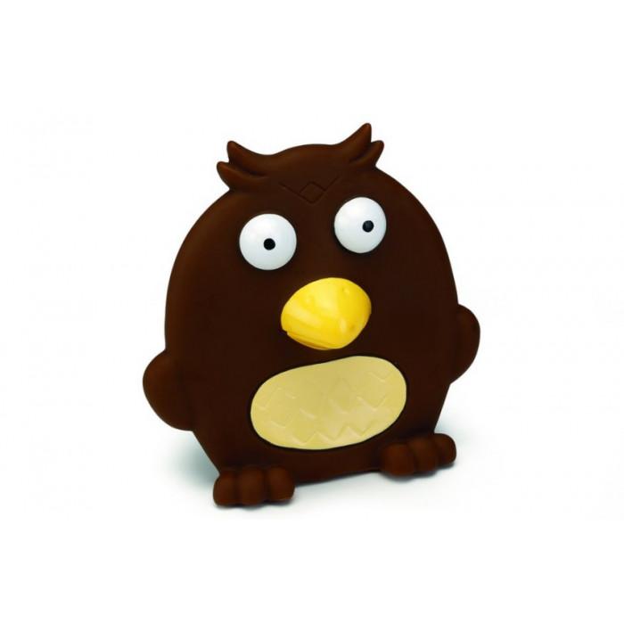 """Игрушка для собак """"Птица плоская"""", коричневая, 14 см"""