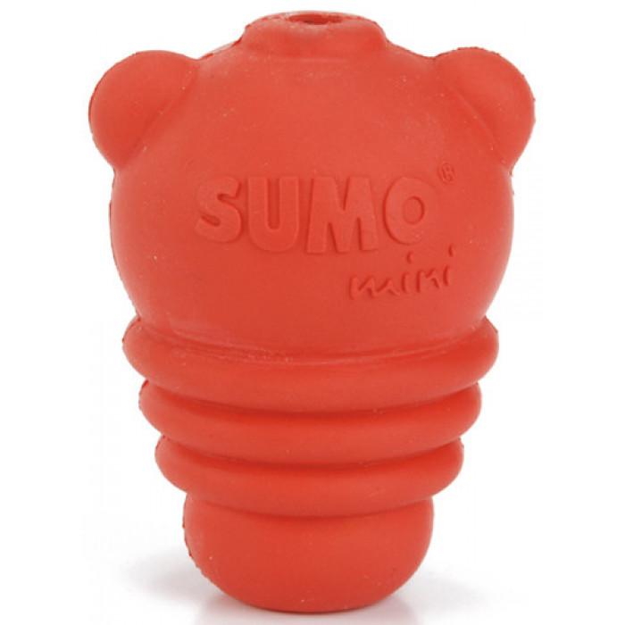 "Игрушка для собак ""Sumo Mini Play"", красная, 4,5х4,5х6 см"