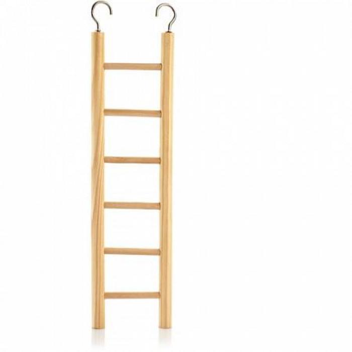 Лестница деревянная (6 ступенек), 28 см