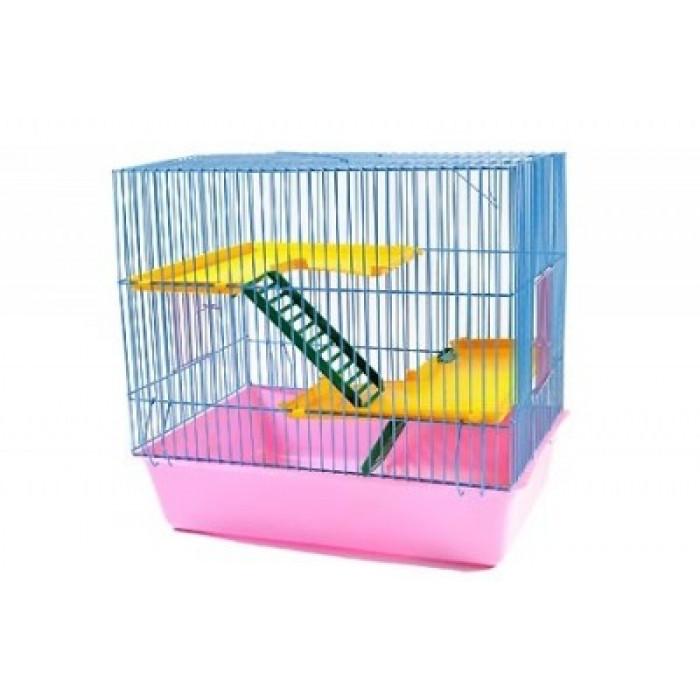 """Клетка для грызунов """"Гризли-3"""", 41*30*35,5 см"""