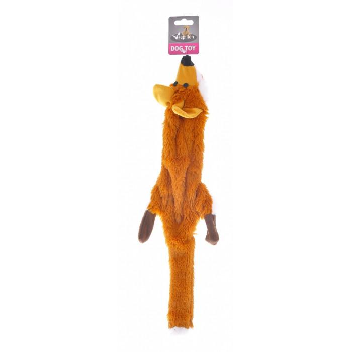 """Papillon Игрушка для собак """"Лиса"""", плюш, 50см"""
