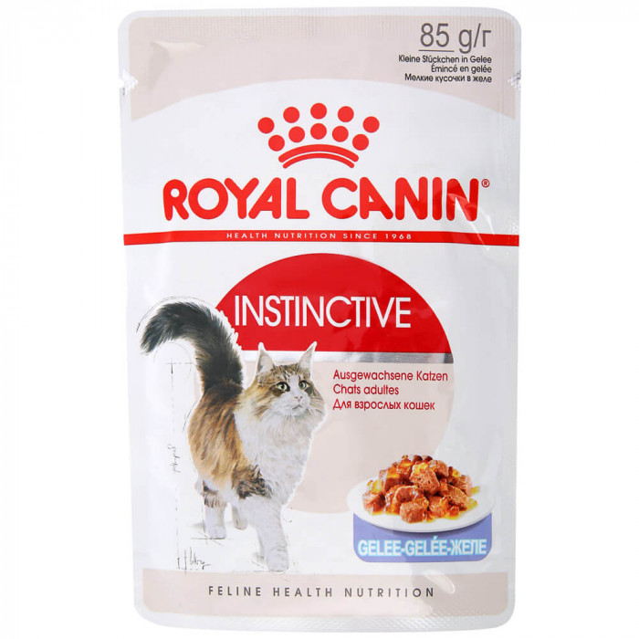 Корм Royal Canin Instinctive (в желе) для кошек старше 1 года, 85 г