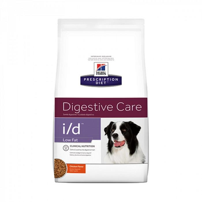 Корм Hill's Prescription Diet i/d Low Fat Digestive Care для собак диета для поддержания здоровья ЖКТ и поджелудочной железы с курицей, 1.5 кг