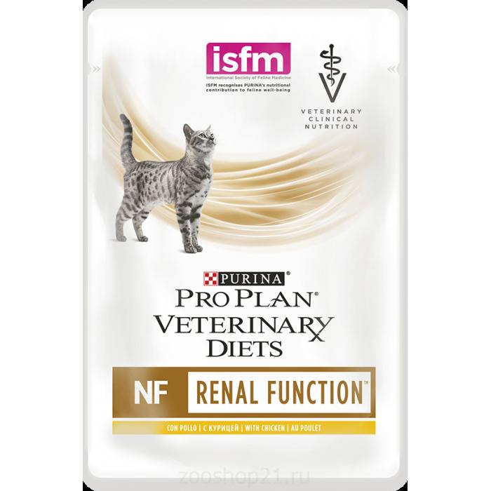 Корм Pro Plan Veterinary diets NF для кошек при патологии почек, с курицей, 85 г