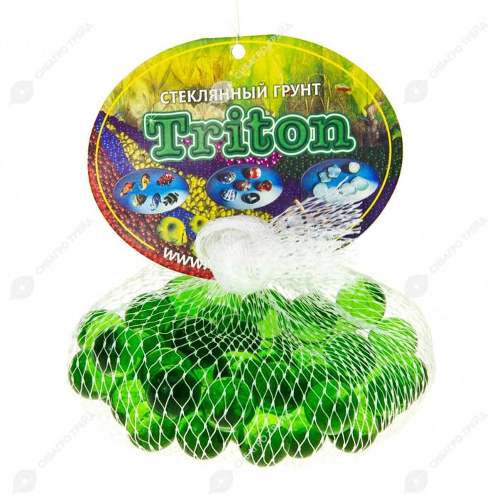 Грунт Triton стеклянный круглый 50 шт №44 (лесная зелень)