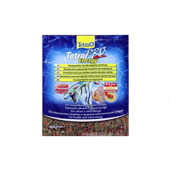 """Корм Tetra """"TetraPro. Energy"""" для всех видов тропических рыб, чипсы, 12 г"""