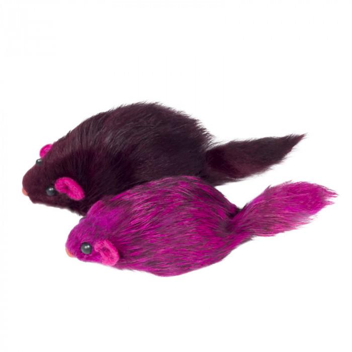 """Игрушка M003C для кошек """"Мышь цветная"""", 70-75мм (цена за 1шт)"""