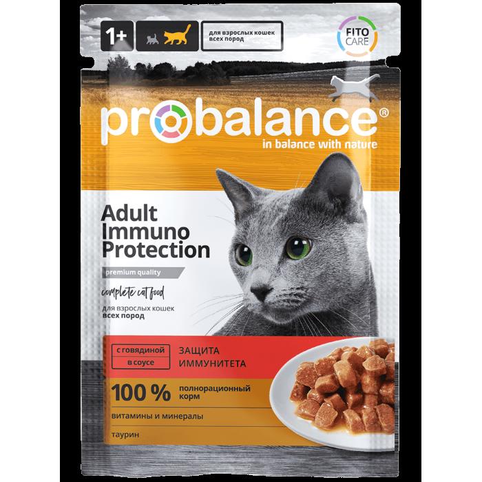 Корм ProBalance для кошек с говядиной, 85 г