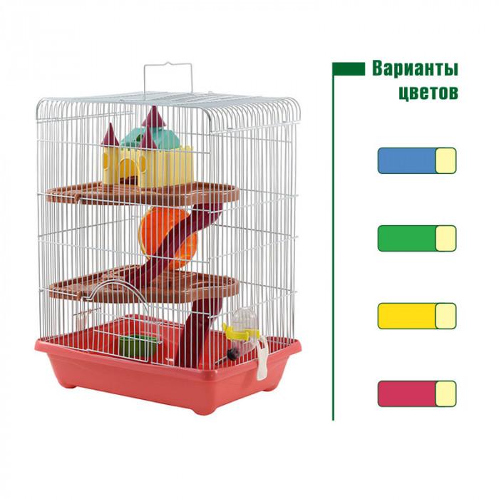 Клетка YD303 для мелких животных, эмаль, 350*260*460мм