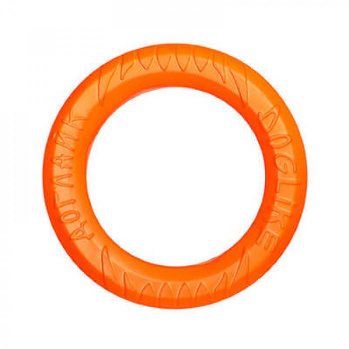 Doglike кольцо восьмигранное малое оранжевое