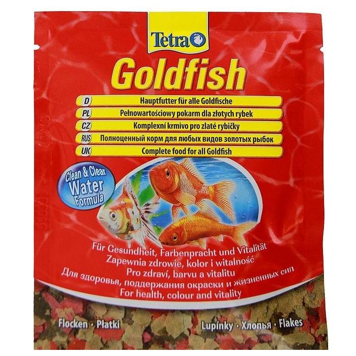 """Корм для золотых рыбок Tetra """"Goldfish"""", хлопья, 12 г"""