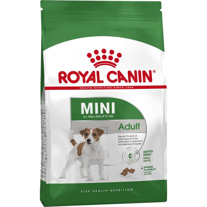 Корм Royal Canin Mini Adult для собак малых пород (до 10 кг) 10 мес. - 8 лет, 800 г