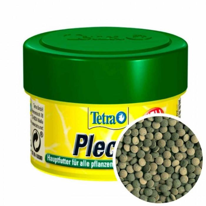 Корм Tetra Pleco для любых видов травоядных донных рыб 58 таб.