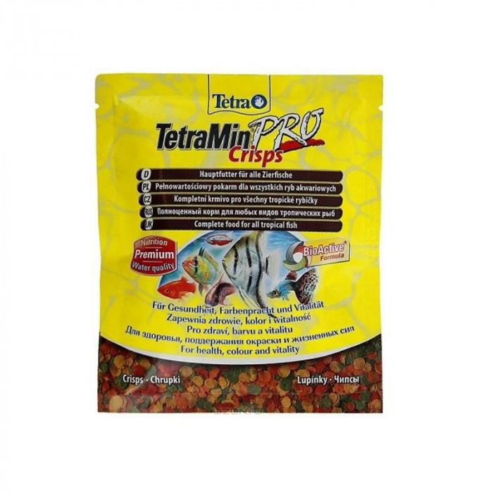 """Корм Tetra """"TetraMin Pro. Crisps"""" для всех видов тропических рыб, чипсы, 12 г"""