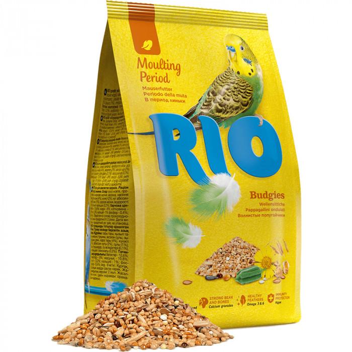Rio для волнистых попугаев во время линьки, 1 кг