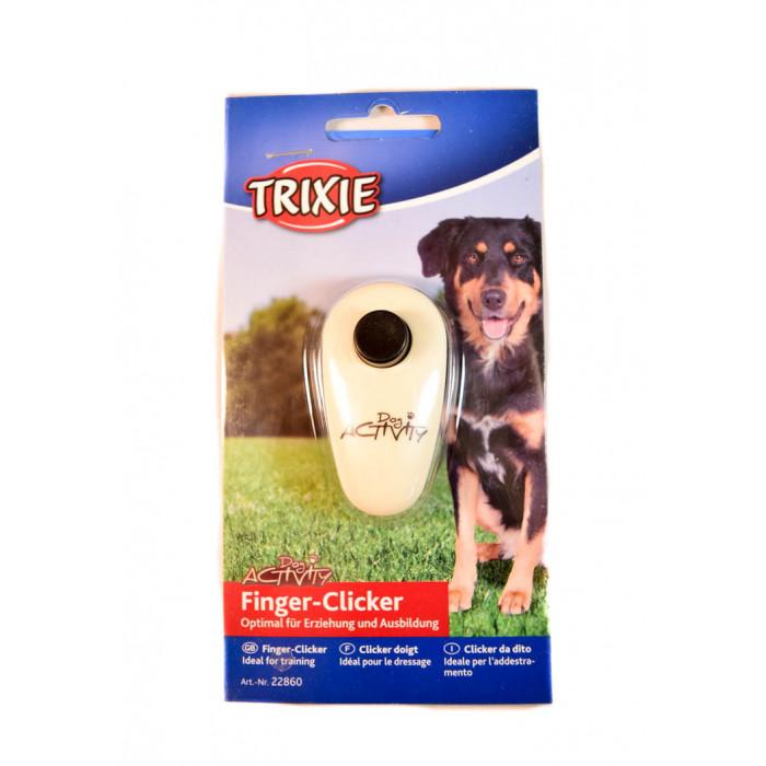 Кликер TRIXIE Dog Activity с креплением на палец для дрессировки собак