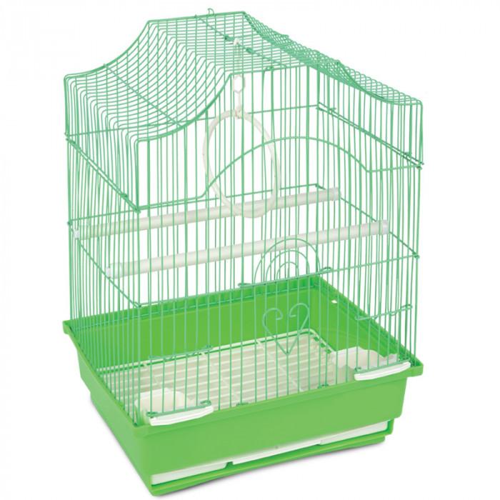 Клетка 1002 для птиц, эмаль, 300*230*390мм