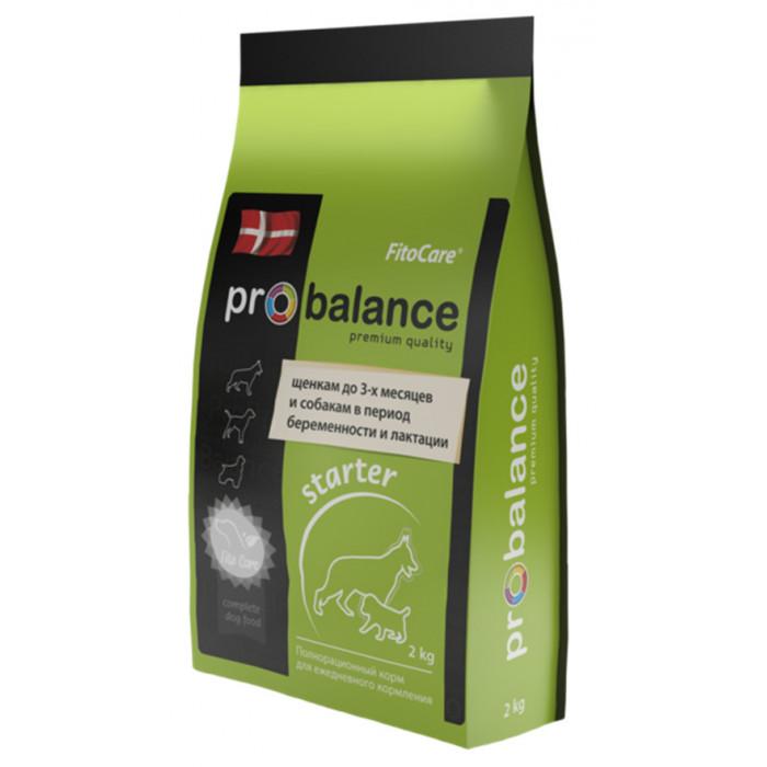 Корм ProBalance для щенков до 3-х месяцев беременных и кормящик сук, 10 кг