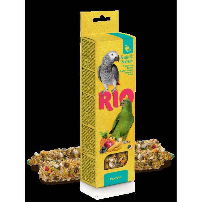 RIO Палочки для средних попугаев с фруктами и ягодами (2 шт. по 90 г)