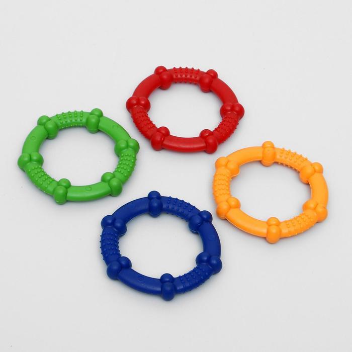 Кольцо рельефное из термопластичной резины, 9,5 см