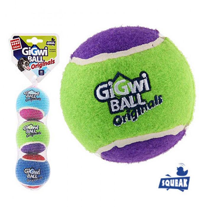 Мяч с пищалкой средний 6.5 см (цена за 1 шт)