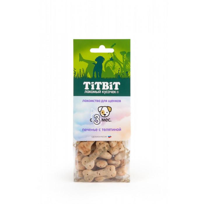 Titbit Печенье с телятиной для щенков 70 г