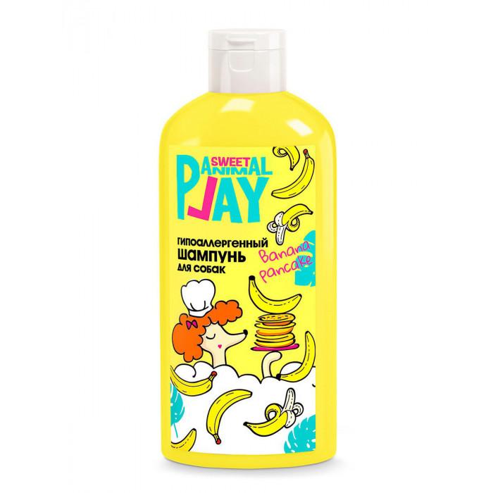 Шампунь для собак и кошек Animal Play Sweet Банановый панкейк гипоаллергенный, 300 мл