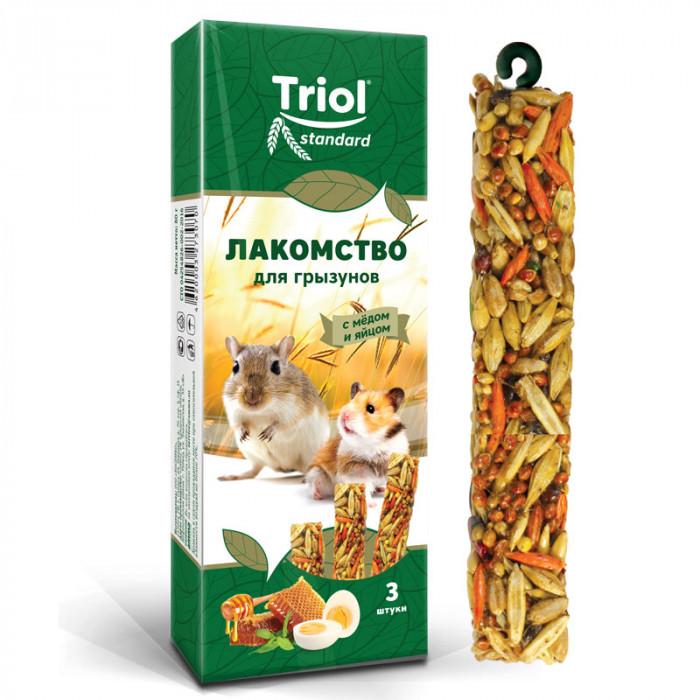 Лакомство Standard Triol для грызунов с мёдом и яйцом (уп. 3 шт), 80г
