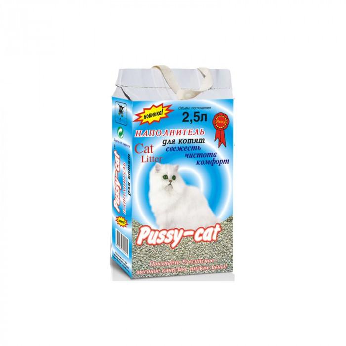 Pussy-Cat Впитывающий наполнитель, для котят 2.5 л