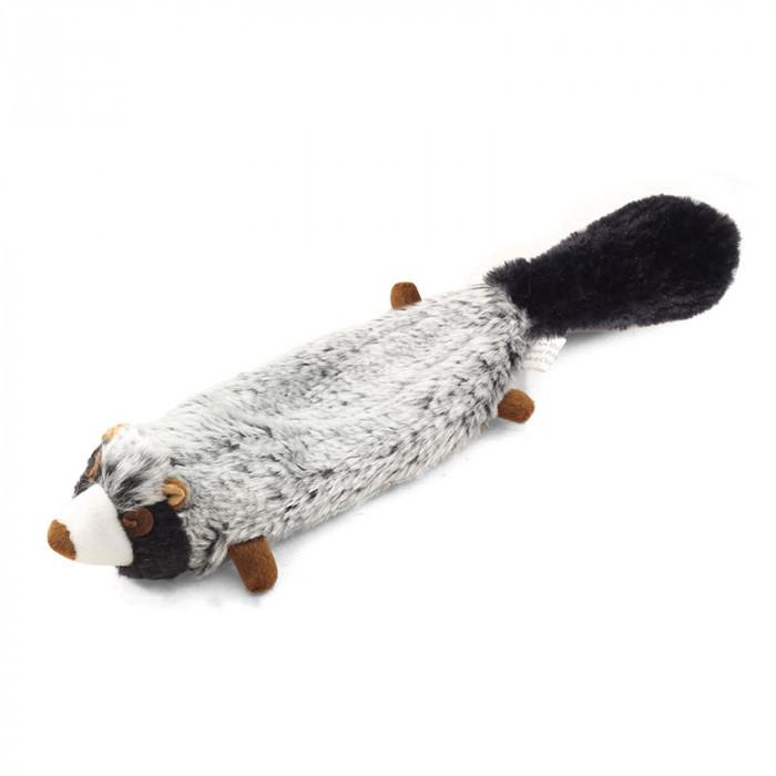 """Игрушка для собак мягкая """"Енот"""", 250мм"""