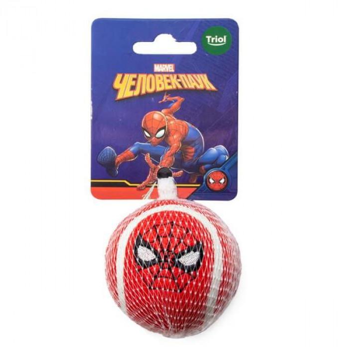 Игрушка для собак Marvel Человек Паук «Мяч теннисный», d70мм