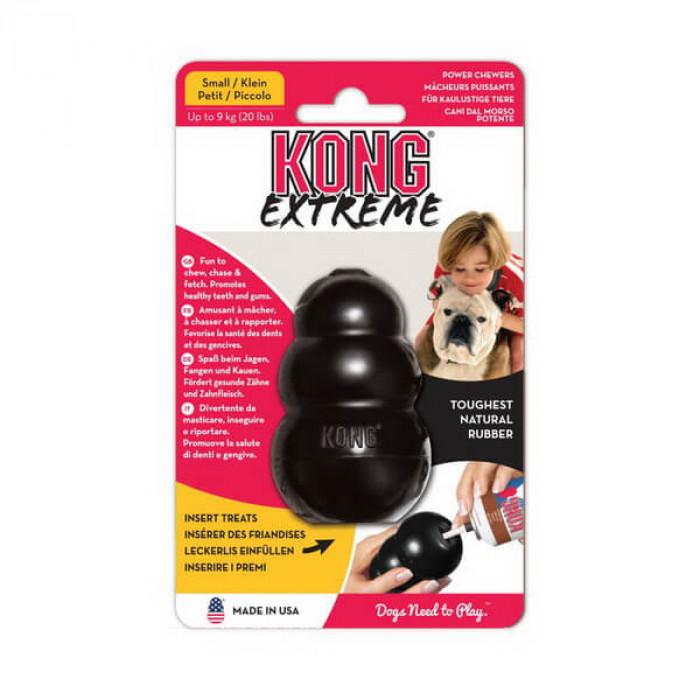 """KONG Extreme игрушка для собак """"КОНГ"""" L очень прочная большая 10х6 см"""