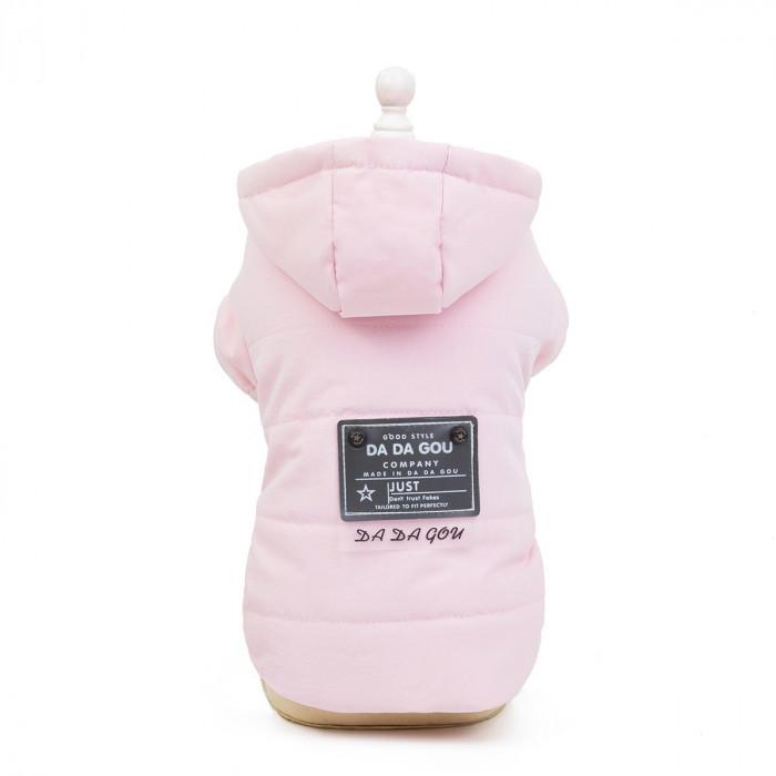 """Куртка """"Good Style"""", цвет розовый, размер М (длина спины 25 см)"""