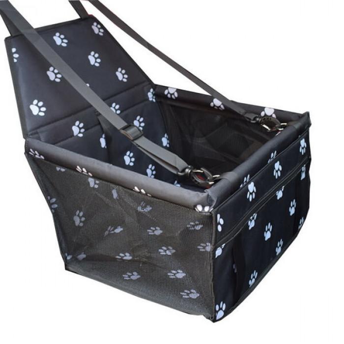 Автогамак для перевозки животных на одно сиденье, 40х30х25 см